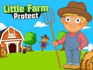 Если вы вдруг не в курсе, то знайте, вы - фермер. Более того, урожай на вашей небольшой, преуспевающей ферме уже созрел. Прознав об этом, дикие звери решили что могут на халяву его скушать. Защитите ферму от их нападения, пока от неё хоть что-то осталось.