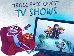Troll Face Quest TV Shows - это новая часть популярного юмористического квеста в котором Вам вновь предстоит напрячь свой ум и думать как настоящий троль. Игра поделена на уровни и на каждом из них вы должны выполнить ряд действий, однако они редко имеют логическое объяснение и приводят к неожиданному финалу, но на то он и троллинг.