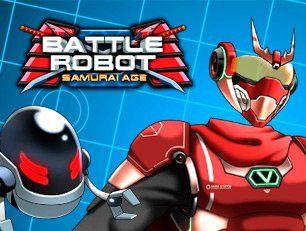 Соберите собственного робота-самурая из отдельных запчастей, а затем пройдите тренировку, чтобы быть готовым к битве с противником!